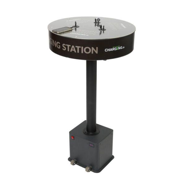 BAR Stand - Barbord med 6 opladerstik