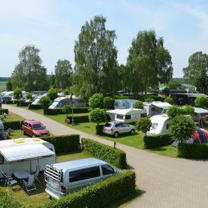 Opladerstation til Campingpladser